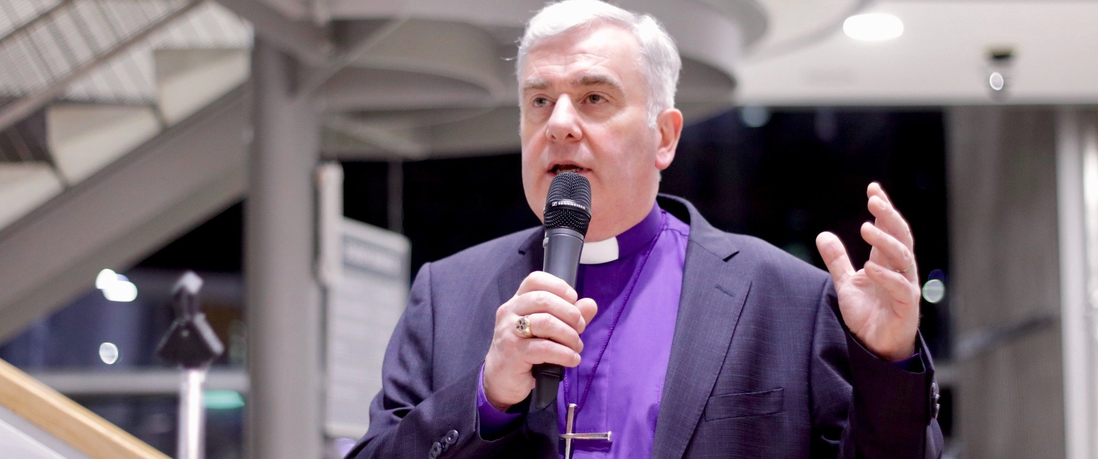 Services of worship to be suspended but we continue to be church – a letter from Bishop David