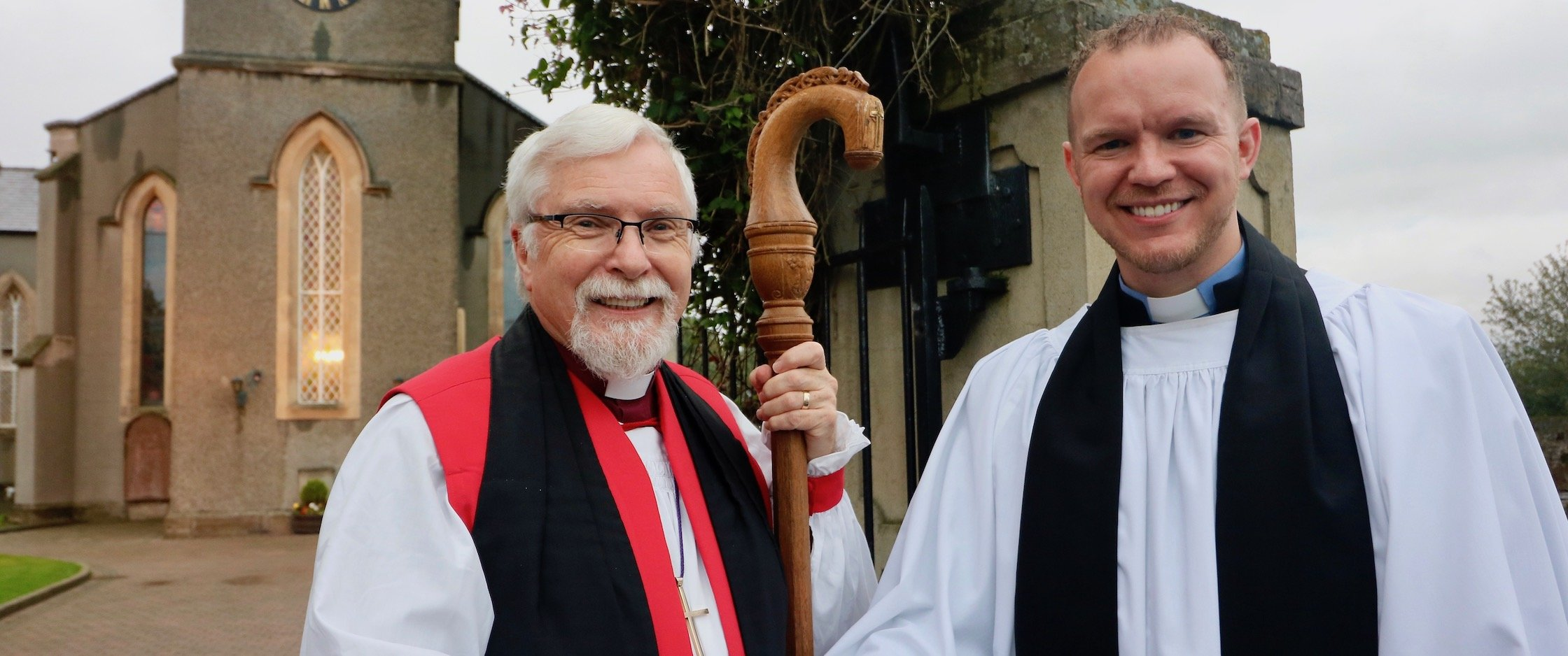 Revd Sam Johnston introduced as Minister–in–Charge in Comber