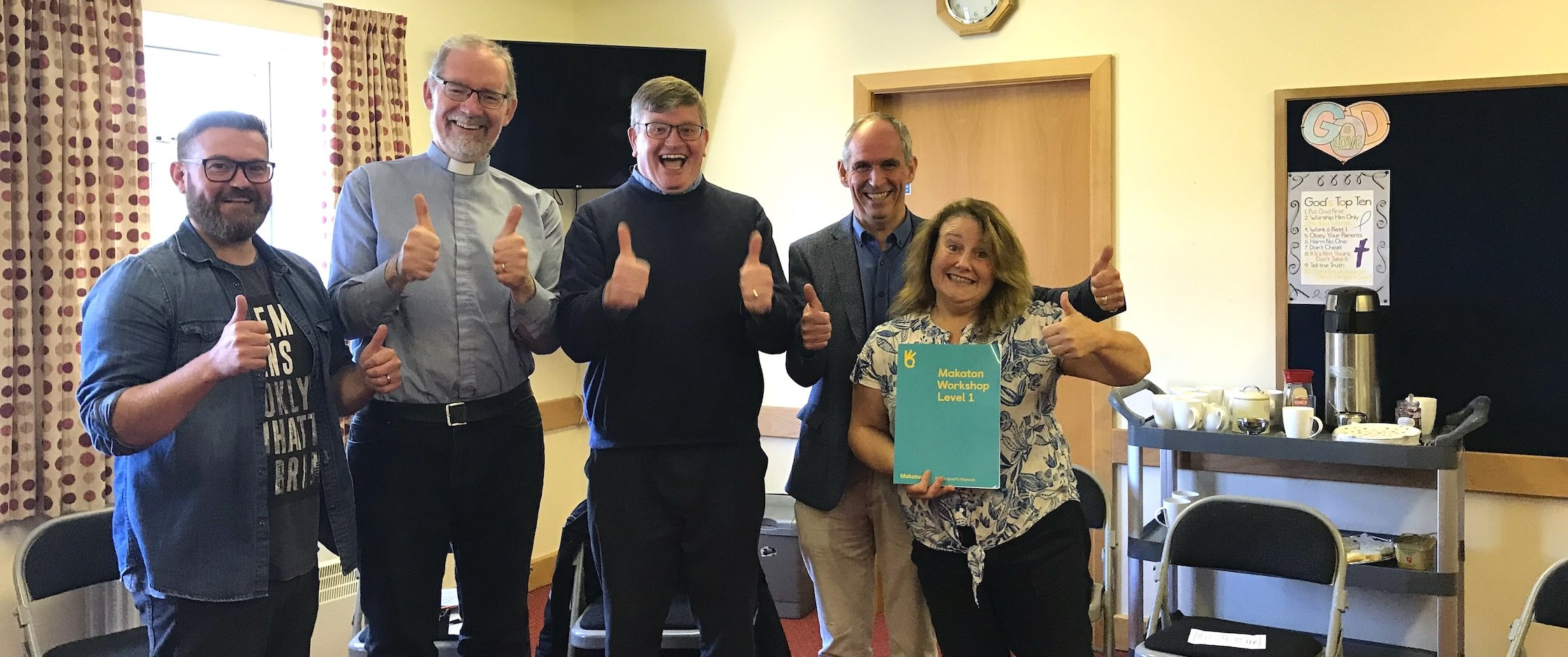 Makaton training a first for the Church of Ireland