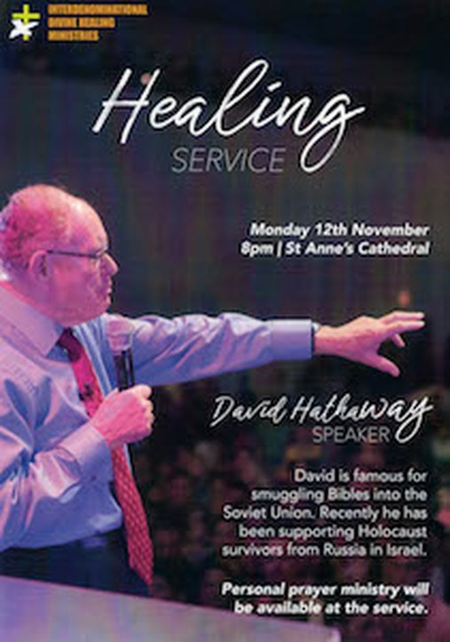 Divine Healing Ministries' exciting November programme - The United