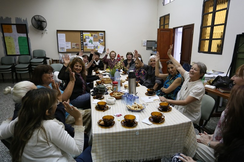 Greetings from Womens Group in Salta