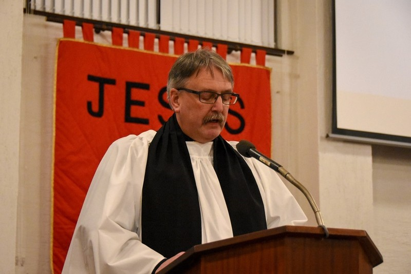 NSM Curate, Revd Noel Gordon