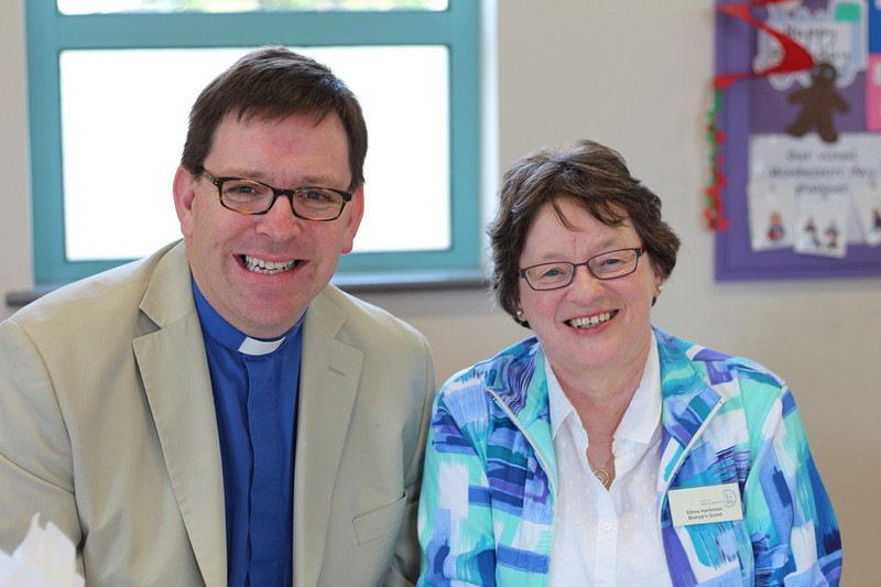 Revd Andrew Forster and Ethne Harkness, Commison on Episcopal Ministry and Structures