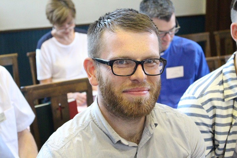 Tim Burns, soon to join the diocesan team
