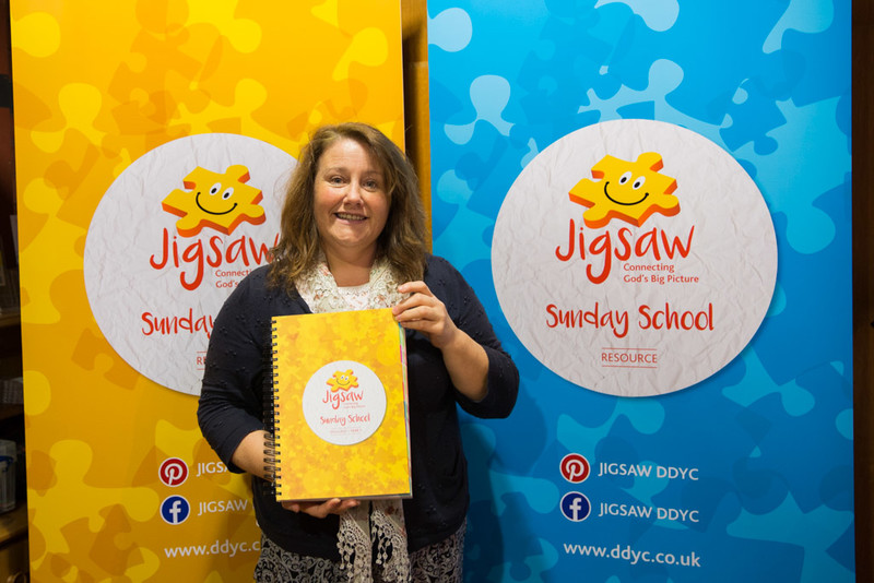Julie Currie with the Jigsaw Sunday School Resource