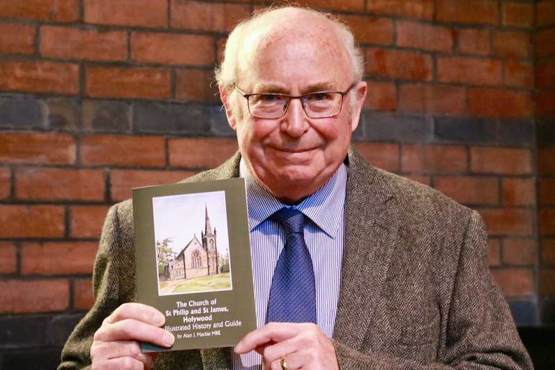 History book author, Alan Mackie