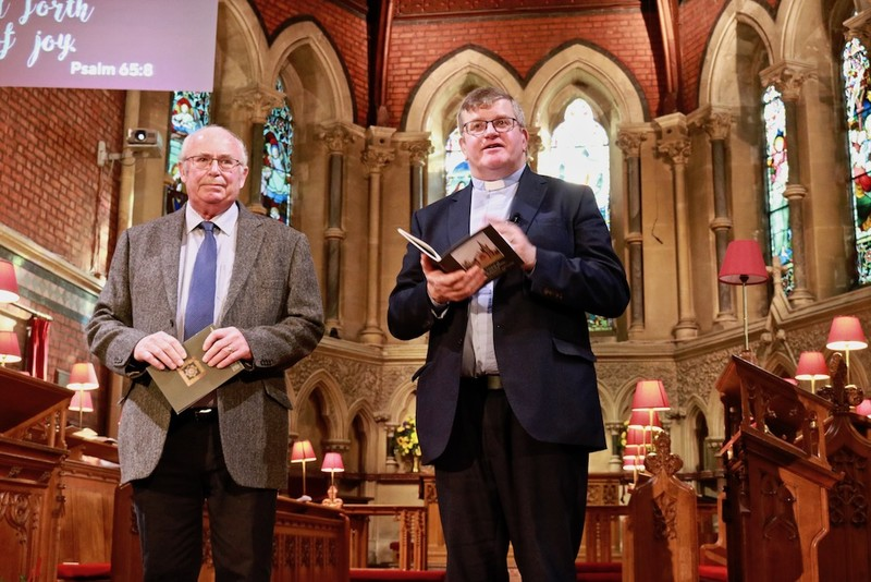 Launching a history of the parish