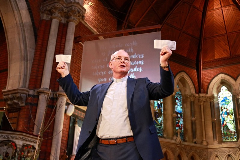 Revd Ken McGrath promises free cash