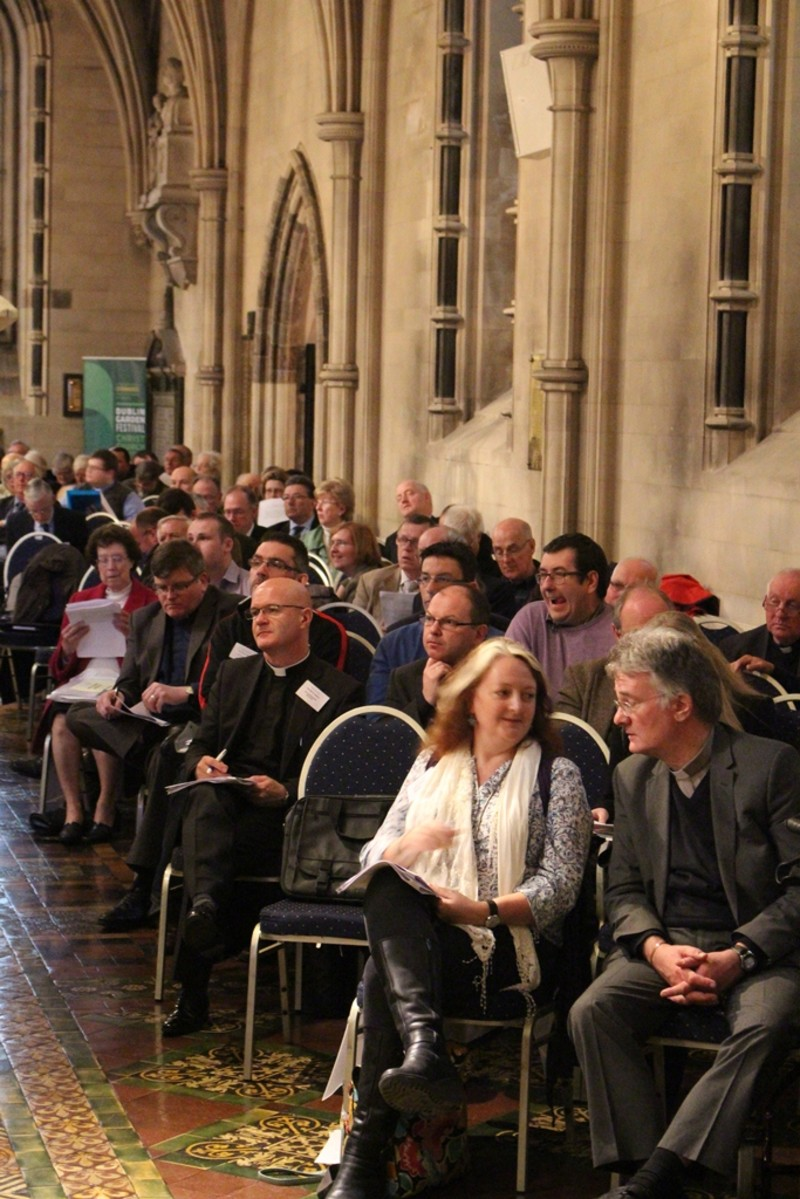 Side aisle at Synod