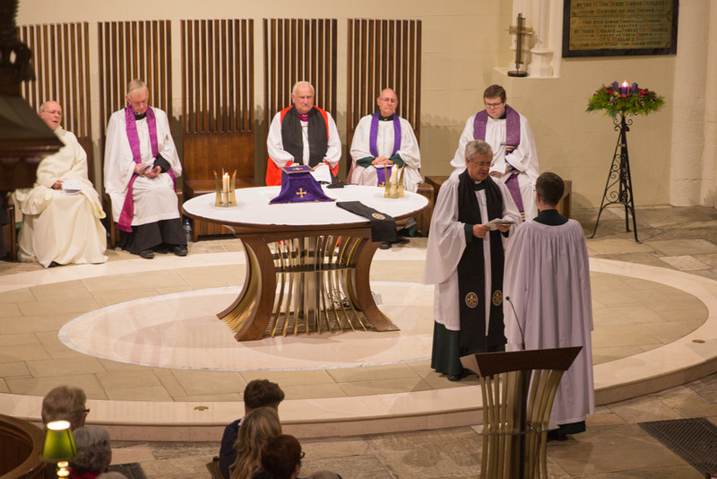 Installation of Rev John Auchmuty as Prebendary of Talpestone