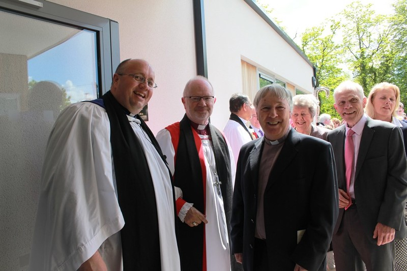 With previous rector Revd Ray Devenney