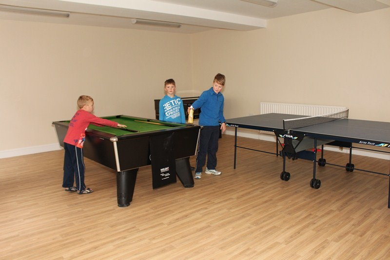 The new games room