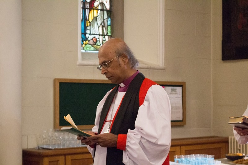 Bishop Michael Nazir Ali prepares quietly