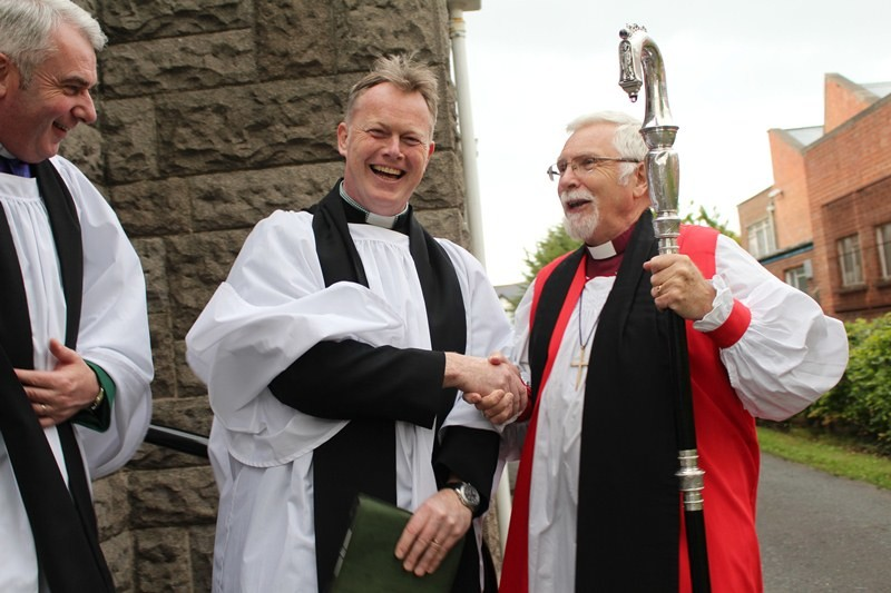 Archdeacon McClay Ross and Bishop Harold