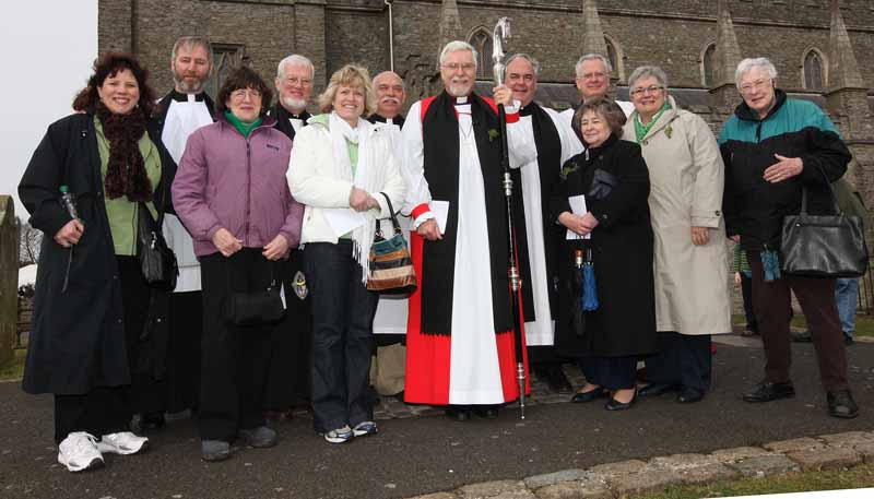 Albany Group at Down Cathedral
